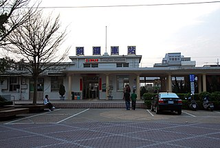 Tongluo railway station Railway station located in Miaoli, Taiwan
