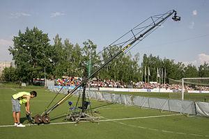 Crane shot - Operator crane