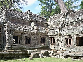 Corridors of Ta Prohm