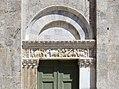 Taglia di biduino, portale sinistro della pieve dei Santi Ippolito e Cassiano (San Casciano di Cascina) xii secolo, 00.jpg