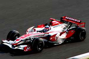 2007 Japanese Grand Prix - National driver, Takuma Sato, qualified in twenty-first position.