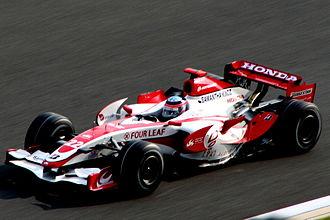 2007 Japanese Grand Prix - National driver, Takuma Sato, qualified in twenty-first position.