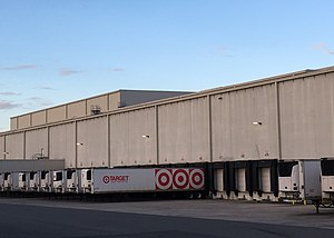 f426e9649fd5 Target distribution center in Lake City