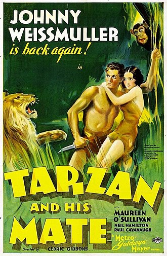 Cedric Gibbons - In addition to his credits as set decorator and art director, Cedric Gibbons is credited for directing one feature film, Tarzan and His Mate (1934)