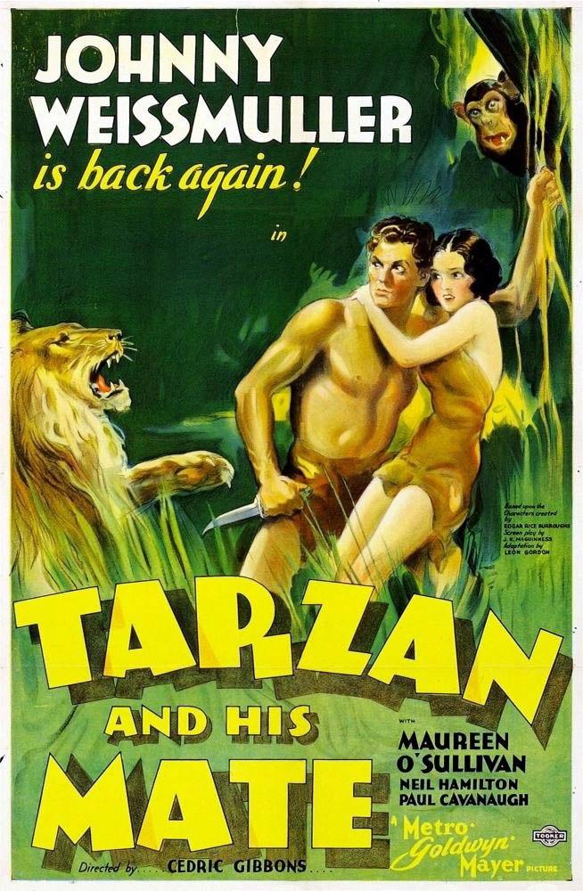 Tarzan his mate poster