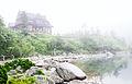 Tatry - Schronisko przy Morskim Oku we mgle.jpg