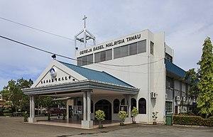 Tawau District - Image: Tawau Sabah Gereja Basel Tawau 02