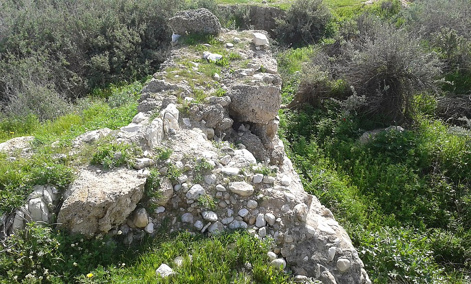 Tel A-Sheria excavation 1