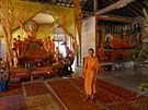 Temple with a monk.JPG