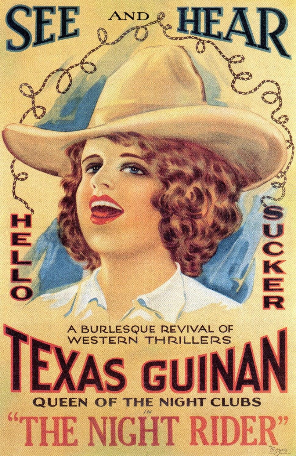 Texas Guinan The Night Rider