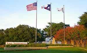 Economy of Texas - The headquarters of Texas Instruments