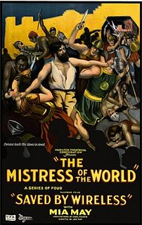 <i>The Mistress of the World</i> 1919 silent film
