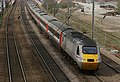 The 07.52 Aberdeen to London King's Cross High Speed Train (HST) passes through Hitchin. - panoramio.jpg