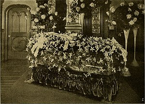 Virginia Rappe - Casket of Virginia Rappe