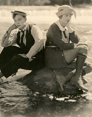 The Balloonatic - Still with Buster Keaton and Phyllis Haver