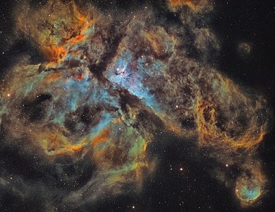 The Carina Nebula in Narrowband.jpg