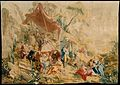 The Charlatan and the Peep Show from a set of the Italian Village Scenes MET DT1840.jpg