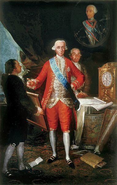 El Conde de Floridablanca, por Francisco de Goya, 1783.