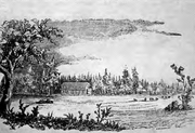 The Dalles mission 1840 - Oregon
