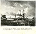 The Departure of Their Royal Highnesses The Duchess of Kent and the Princess Victoria, from Devonport in the Emerald Yacht, towed by the Messenger steamer, 6th August 1833 RMG PU6522.jpg