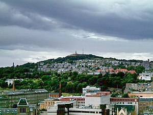 Дънди: The Dundee Law - geograph.org.uk - 63200 (lighter ground)