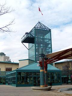 The Forks, Winnipeg Historic meeting place / Neighbourhood in Winnipeg, Manitoba, Canada