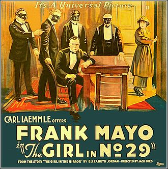 The Girl in Number 29 - Film poster