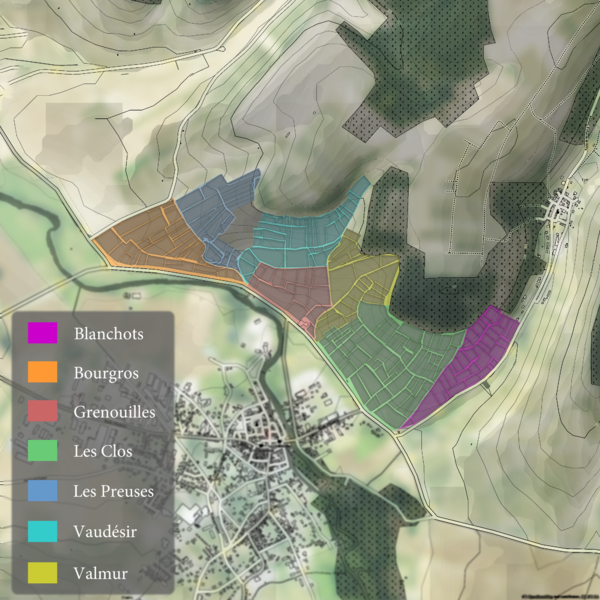 File:The Grand Crus Of Chablis with its vineyards.png