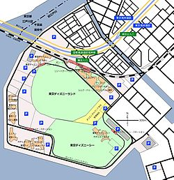 東京ディズニーリゾート , Wikipedia