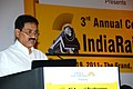 The Minister of State for Railways, Shri Bharatsinh Solanki addressing a gathering at the 3rd Annual Conference on 'India Rail 2011' which he inaugurated in New Delhi on May 19, 2011.jpg
