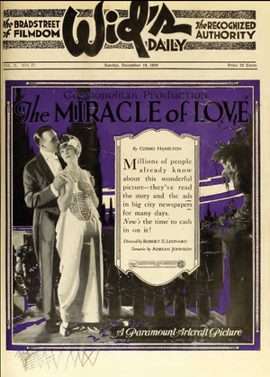 The Miracle of Love (film) - Ad for film