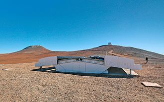 Next-Generation Transit Survey - NGST facility with the VLT (left) and VISTA (right) in the background