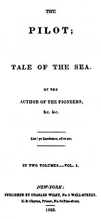 <i>The Pilot: A Tale of the Sea</i> novel by James Fenimore Cooper