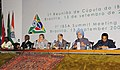 The Prime Minister, Dr. Manmohan Singh addressing at 1st IBSA Summit Meeting at Itamaraty Palace, in Brazil, on September 13, 2006.jpg