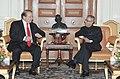 The Prime Minister of Pakistan, Mr. Nawaz Sharif meeting the President, Shri Pranab Mukherjee, at Rashtrapati Bhavan, in New Delhi on May 27, 2014.jpg