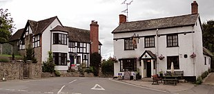 Wigmore village
