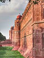 The Ramparts, Bastions and the moat of THE RED FORT.jpg