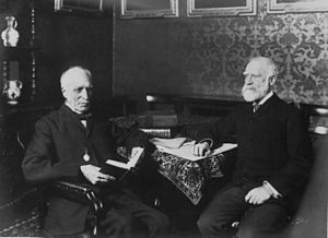 James Bryce, 1st Viscount Bryce - The Rt. Hon. James Bryce and Prof. Goldwin Smith 1907.