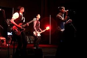 The Slants - The Slants performing in September 2016.
