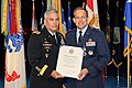 The Vice Chief of Staff of the U.S. Army Gen. John F. Campbell, left, presents Air Force Maj. Gen. Timothy A. Byers, right, the Civil Engineer, Headquarters U.S. Air Force, with a certificate of retirement 130621-A-WP504-101.jpg