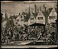 The assassination of Henry IV, King of France, 1610; a tumul Wellcome V0041777.jpg
