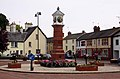 The clock tower in Twyn Square - geograph.org.uk - 1950615.jpg