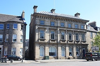 James Currie (shipowner) - The former Currie Line offices on Bernard Street, Leith