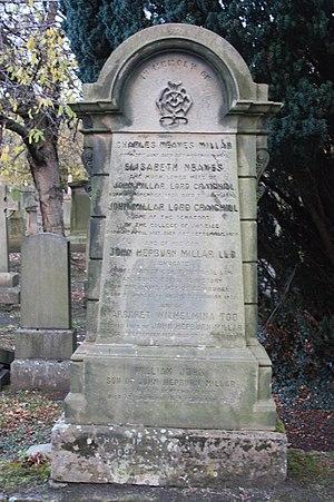 John Millar, Lord Craighill - The grave of John Millar, Lord Craighill, Grange Cemetery, Edinburgh