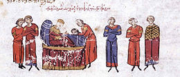 The head of Theophobos is brought to Emperor Theophilos on his deathbed.jpg