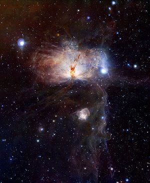 VISTA (telescope) - One of the first images released made by the VISTA telescope depicting the Flame Nebula and the neighbouring Horsehead Nebula