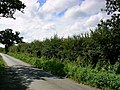 The road from Flaxlands - geograph.org.uk - 903015.jpg