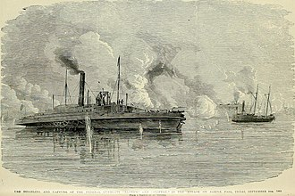 Second Battle of Sabine Pass - The Confederates capture Clifton and Sachem