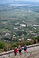The town of Sparta in the background, looking outwards from Mystra.jpg