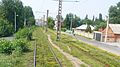 The tram line from the station to the Donetsk city center (3).JPG